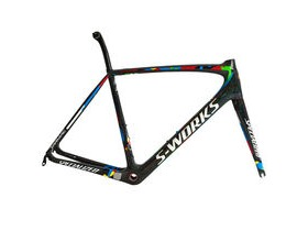 SPECIALIZED SPECIALIZED S-Works Tarmac SAGAN Frameset cut streerer so no spacers